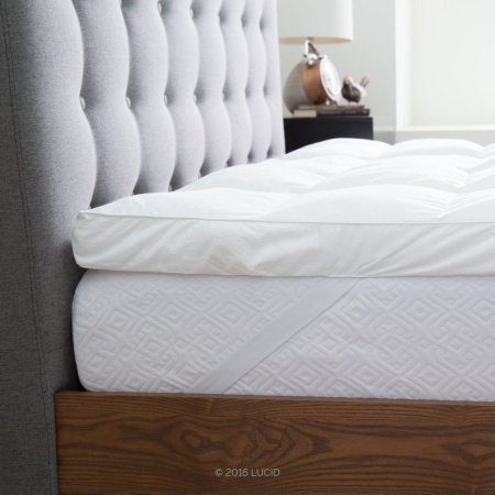 Using a soft topper to make mattress softer
